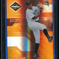 DONTRELLE WILLIS 2005 LEAF LIMITED BRONZE SPOTLIGHT 43/99 *FLORIDA MARLINS*
