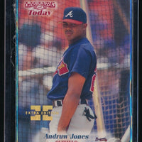 ANDRUW JONES 1998 SPORTS ILLUSTRATED THEN AND NOW EXTRA EDITION 018/500