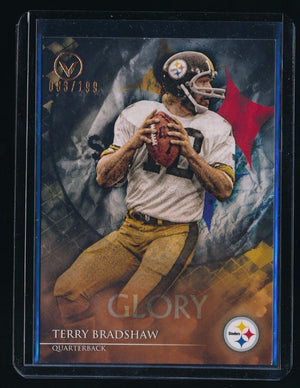 TERRY BRADSHAW 2014 TOPPS VALOR GLORY #91 083/199 *PITTSBURGH STEELERS*