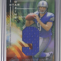 MATTHEW STAFFORD 2009 ABSOLUTE MEMORABILIA STAR GAZING RC JERSEY 06/10 LIONS