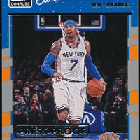 CARMELO ANTHONY 2016-17 DONRUSS PRESS PROOFS SILVER 275/299 *NEW YORK KNICKS*