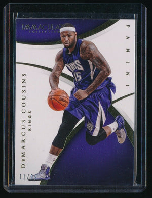 DEMARCUS COUSINS 2014-15 IMMACULATE COLLECTION #42 11/99 *SACRAMENTO KINGS*
