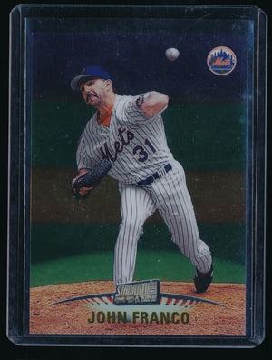 JOHN FRANCO 1999 STADIUM CLUB ONE OF A KIND 108/150 NEW YORK METS