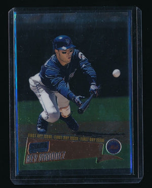 REY ORDONEZ 2000 STADIUM CLUB CHROME FIRST DAY ISSUE #145 093/100 NEW YORK METS