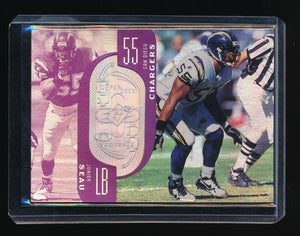 JUNIOR SEAU 1998 SPX FINITE SPECTRUM 1877/1900 SAN DIEGO CHARGERS