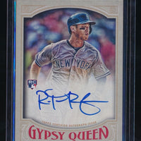 ROB REFSNYDER 2016 TOPPS GYPSY QUEEN AUTOGRAPH AUTO *NEW YORK YANKEES*