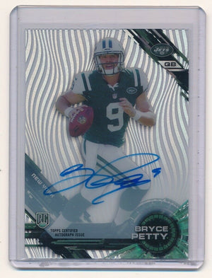 BRYCE PETTY 2015 TOPPS HIGH TEK AUTOGRAPH RC AUTO *NEW YORK JETS*