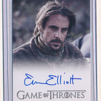 EMUN ELLIOTT 2013 GAME OF THRONES SEASON TWO AUTOGRAPH AUTO MARILLION