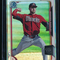 BRADEN SHIPLEY 2015 BOWMAN CHROME PROSPECTS REFRACTOR 041/499 DIAMONDBACKS