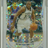 ROMAIN SATO 2004-05 TOPPS CHROME X-FRACTOR RC 052/110 SAN ANTONIO SPURS