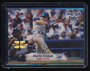 DARIN ERSTAD 1998 SPORTS ILLUSTRATED THEN AND NOW EXTRA EDITION 043/500 ANGELS