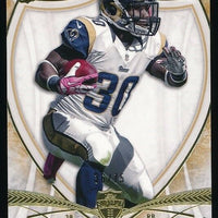 ZAC STACY 2013 TOPPS SUPREME GOLD ROOKIE CARD 36/75 *LOS ANGELES RAMS*