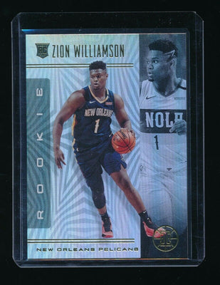 ZION WILLIAMSON 2019-20 PANINI ILLUSIONS #151 RC *NEW ORLEANS PELICANS*