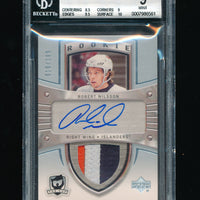 BGS 9 ROBERT NILSSON 2005-06 UPPER DECK THE CUP 3 COLOR PATCH AUTO RC #/199 RARE