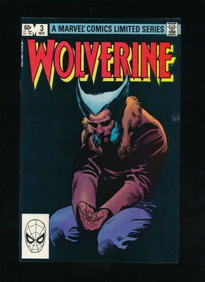 WOLVERINE LIMITED SERIES #3 (MARVEL COMICS, 11/1982) VERY RARE *UNPRESSED* B