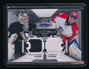 MARC-ANDRE FLEURY ROBERTO LUONGO 2015-16 SP GAME USED ALL-STAR SKILL DUAL JERSEY