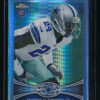 MORRIS CLAIBORNE 2012 TOPPS CHROME PRISM RC REFRACTOR 061/216 *DALLAS COWBOYS*