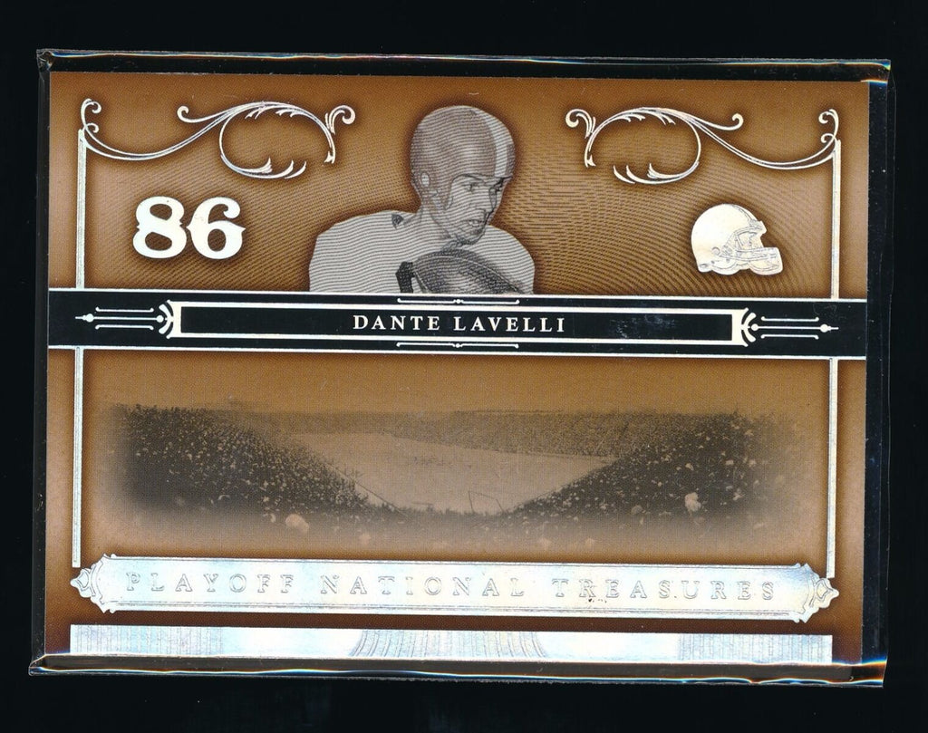 DANTE LAVELLI 2006 PLAYOFF NATIONAL TREASURES #45 106/125 *CLEVELAND BROWNS*
