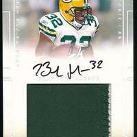BRANDON JACKSON 2007 DONRUSS PLAYOFF AUTOGRAPH JERSEY RC 96/99 *PACKERS*