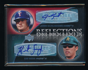 JARROD SALTALAMACCHIA KURT SUZUKI 2007 EXQUISITE COLLECTION RC AUTO 27/40