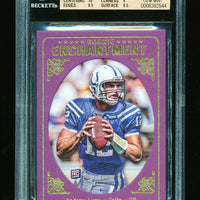 BGS 9.5 ANDREW LUCK 2012 TOPPS MAGIC ROOKIE ENCHANTMENT RC INSERT GEM MINT COLTS