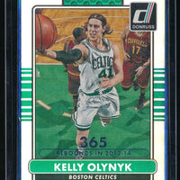 KELLY OLYNYK 2014-15 DONRUSS STAT LINE SEASON #194 170/365 *BOSTON CELTICS*