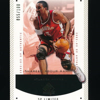 SHAREEF ABDUR-RAHIM 2002-03 SP AUTHENTIC LIMITED 055/100 *ATLANTA HAWKS*