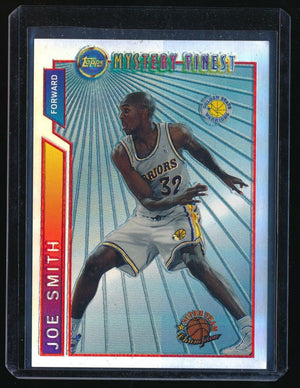 JOE SMITH 1996-97 TOPPS MYSTERY FINEST BORDERED REFRACTOR #M20 GOLDEN STATE
