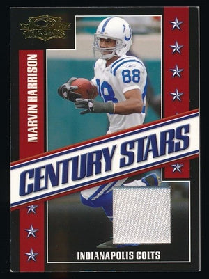 MAVIN HARRISON 2007 DONRUSS THREAD CENTURY STARS JERSEY 118/250 *COLTS*