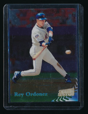 REY ORDONEZ 1998 STADIUM CLUB ONE OF A KIND 117/150 NEW YORK METS