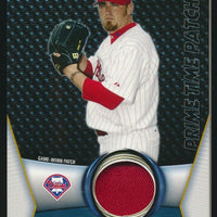 BRETT MYERS 2009 TOPPS UNIQUE PRIMETIME PATCHES PATCH 35/99 *PHILLIES*