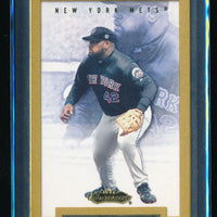 MO VAUGHN 2002 FLEER SHOWCASE LEGACY #22 121/175 *NEW YORK METS*