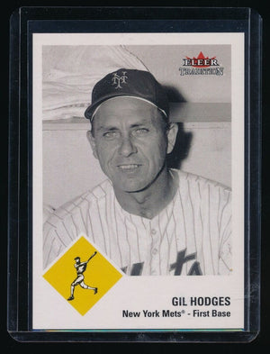 GIL HODGES 2003 FLEER TRADITION GLOSSY #78 ML 064/100 *NEW YORK METS*