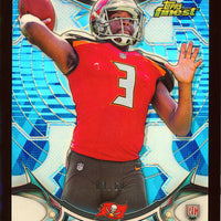 JAMEIS WINSTON 2015 TOPPS FINEST BLUE REFRACTOR PARALLEL RC JERSEY #D 3/60 RARE