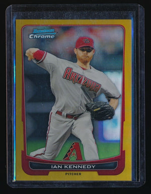 IAN KENNEDY 2012 BOWMAN CHROME GOLD REFRACTOR 23/50 ARIZONA DIAMONDBACKS
