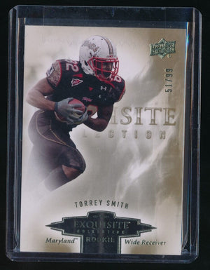 TORREY SMITH 2010 EXQUISITE COLLECTION DRAFT PICKS RC 51/99 *SAN FRANCISCO 49ER*