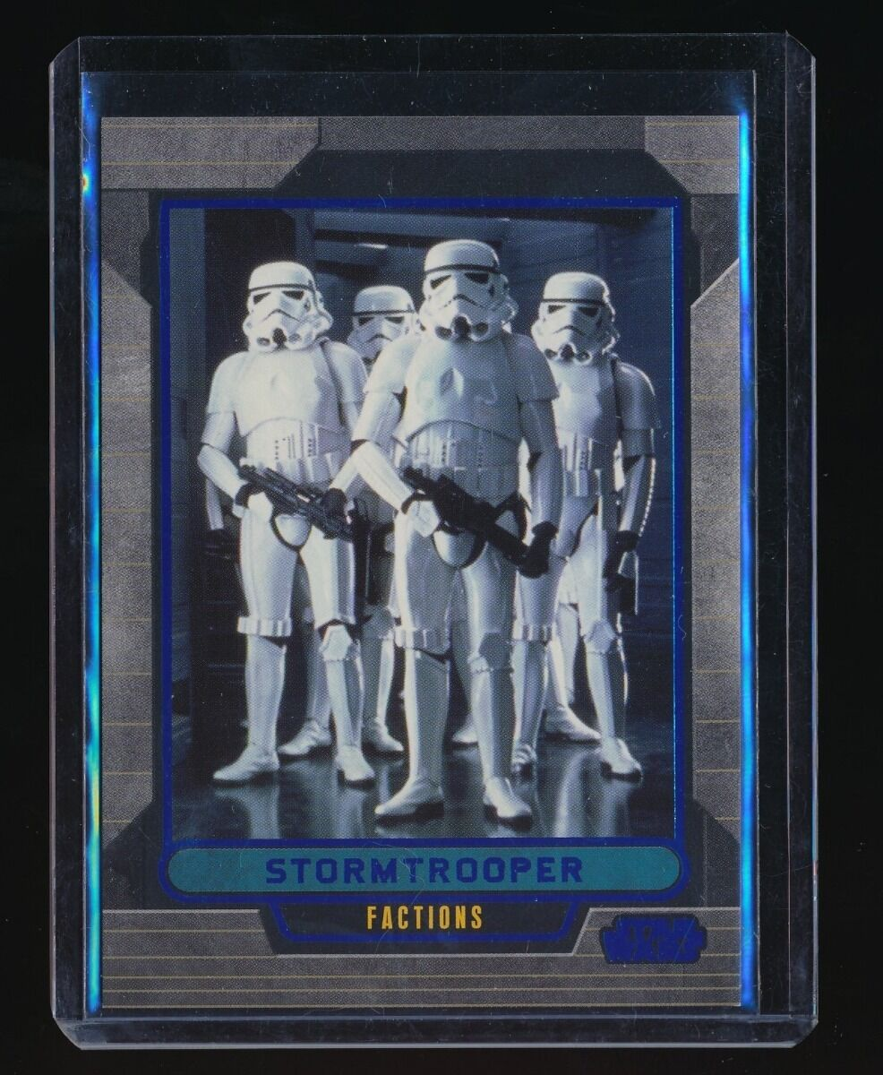 STORMTROOPER 2012 STAR WARS GALACTIC FILES BLUE FOIL #331 199/350