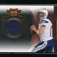 PHILIP RIVERS 2010 PANINI PLATES AND PATCHES JERSEY 213/270 LOS ANGELES CHARGERS