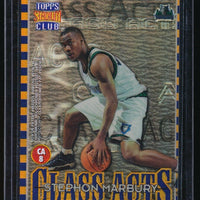 STEPHON MARBURY KENNY ANDERSON 1996-97 STADIUM CLUB CLASS ACTS REFRACTOR
