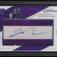 JOSH DOCTSON 2016 PRIME SIGNATURE JERSEY RC AUTO 177/199 *WASHINGTON REDSKINS*