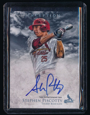 STEPHEN PISCOTTY 2013 BOWMAN INCEPTION PROSPECT AUTOGRAPH RC AUTO *CARDINALS*