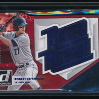 ROBERT REFSNYDER 2016 PANINI DONRUSS RATED ROOKIE DIE-CUTS BLUE #RRDC2 052/999
