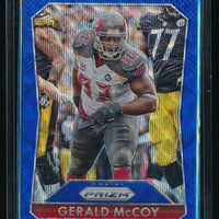 GERALD MCCOY 2015 PANINI PRIZM PRIZMS LIGHT BLUE WAVE #93 079/150 *BUCCANEERS*