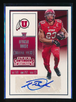 DEVONTAE BOOKER 2016 PANINI CONTENDERS DRAFT PICKS #122A RC AUTO/(RED JSY)