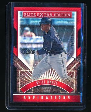 KETEL MARTE 2015 ELITE EXTRA EDITION ASPIRATION DIE CUT 095/200 SEATTLE MARINERS