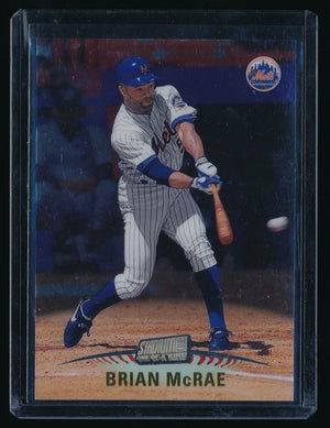 BRIAN MCRAE 1999 STADIUM CLUB ONE OF A KIND 057/150 NEW YORK METS