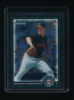 MADISON BUMGARNER 2010 BOWMAN CHROME DRAFT #BDP9 RC *SAN FRANCISCO GIANTS*