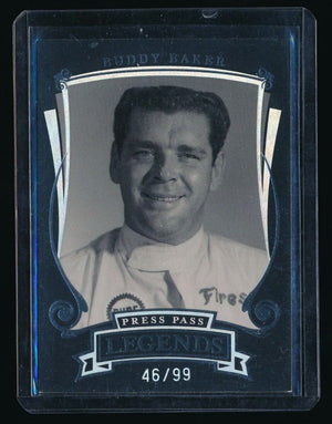 BUDDY BAKER 2006 PRESS PASS LEGENDS HOLOFOIL #H15 46/99