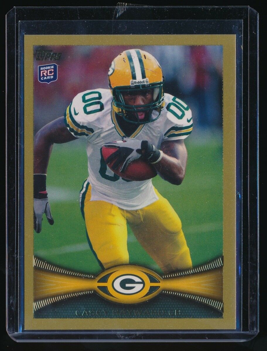 CASEY HAYWARD 2012 TOPPS GOLD #179 RC 0238/2012 *GREEN BAY PACKERS*