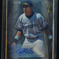 JACOB GATEWOOD 2014 BOWMAN STERLING PROSPECT AUTOGRAPH RC AUTO *BREWERS*